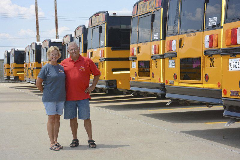 School bus drivers need Flexibility, kindness, patience -- and nerves of steel