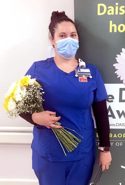 Sarah Bush Lincoln nurse receives DAISY award