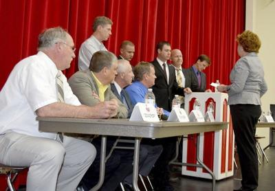 Budget cuts topic of commissioners forum