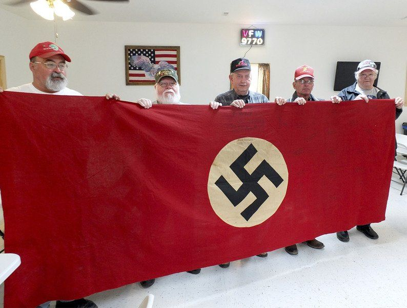 Brownstown VFW finds Nazi flag in a drawer | Local News