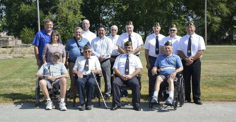 Bank donates land for new Stewardson American Legion post