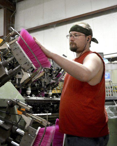 Newton Broom and Brush Co  still makes corn brooms | Local News
