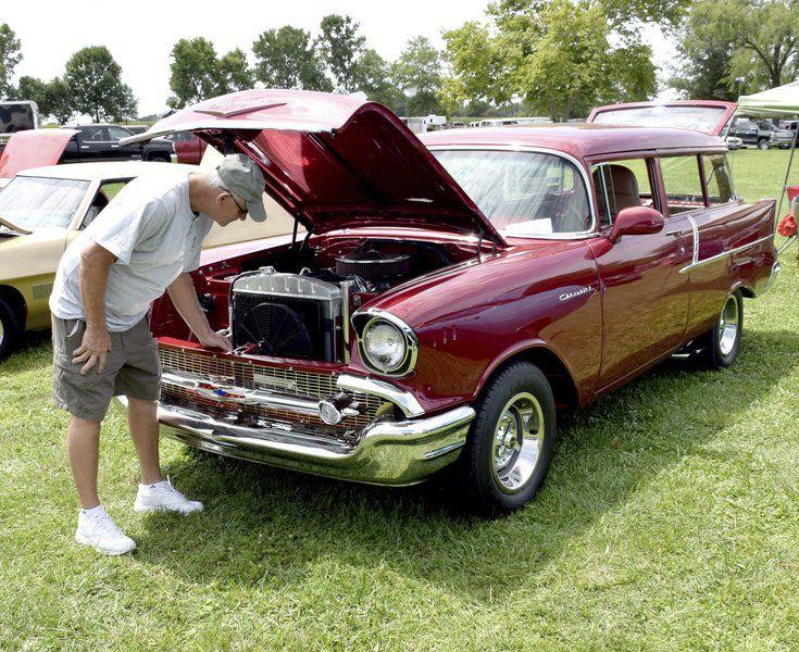 Car Show Helps Kick Start Fair Week