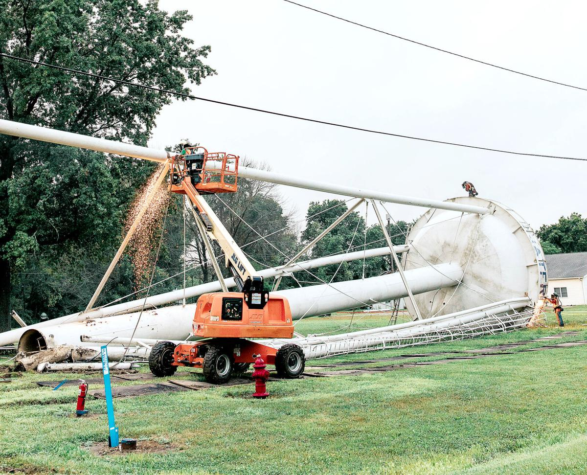EJ Water Cooperative retires Shumway water tower