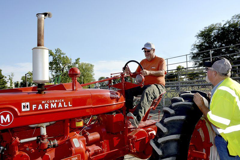 Celebrity Tractor Games a hit at fairgrounds