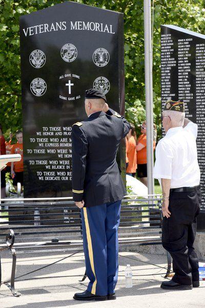 Area Memorial Day services