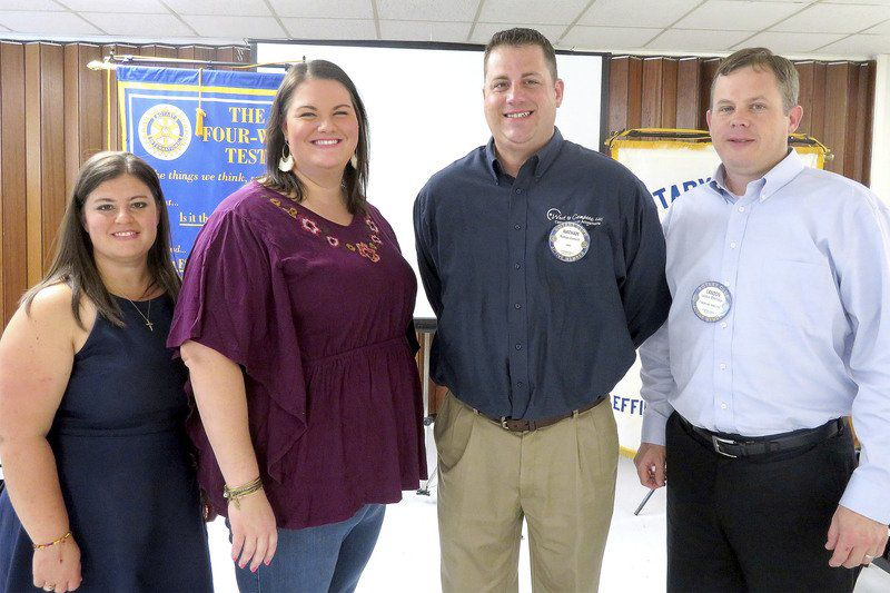 Sunrise Rotary presents awards, elects officers