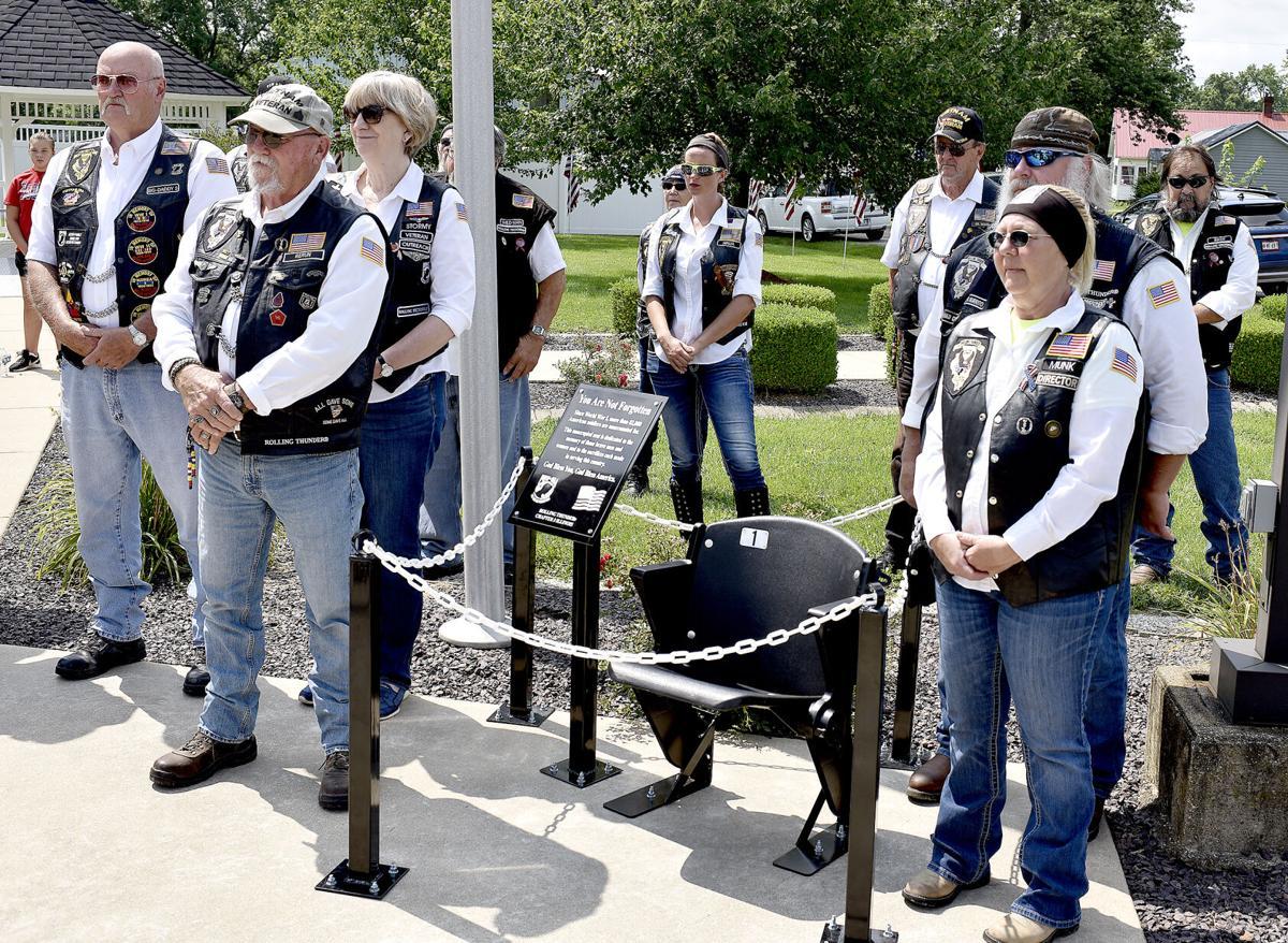 Rolling Thunder unveils memorial in Beecher City
