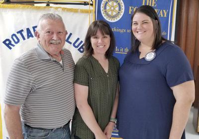Marketing director talks about EPC at Rotary