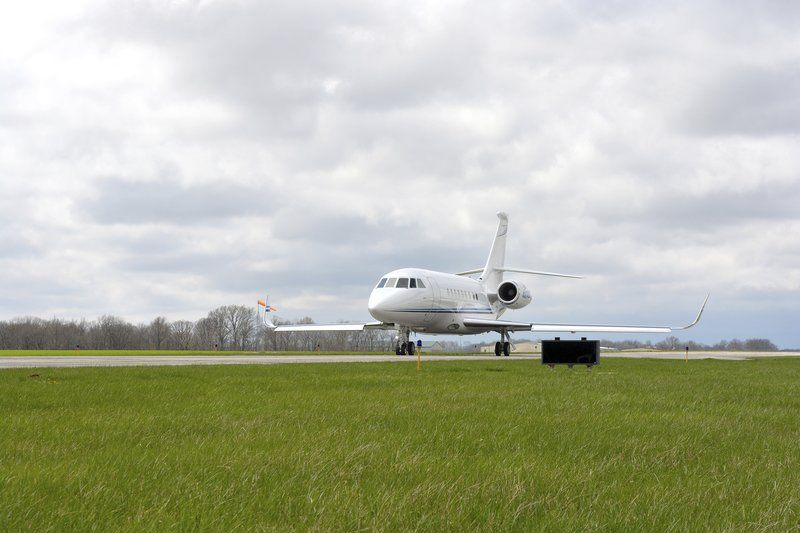 Crowded ramp shows need for airport expansion