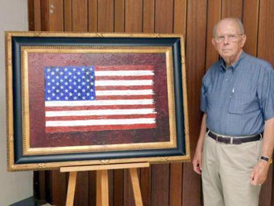 Noon Rotarians learn flag history