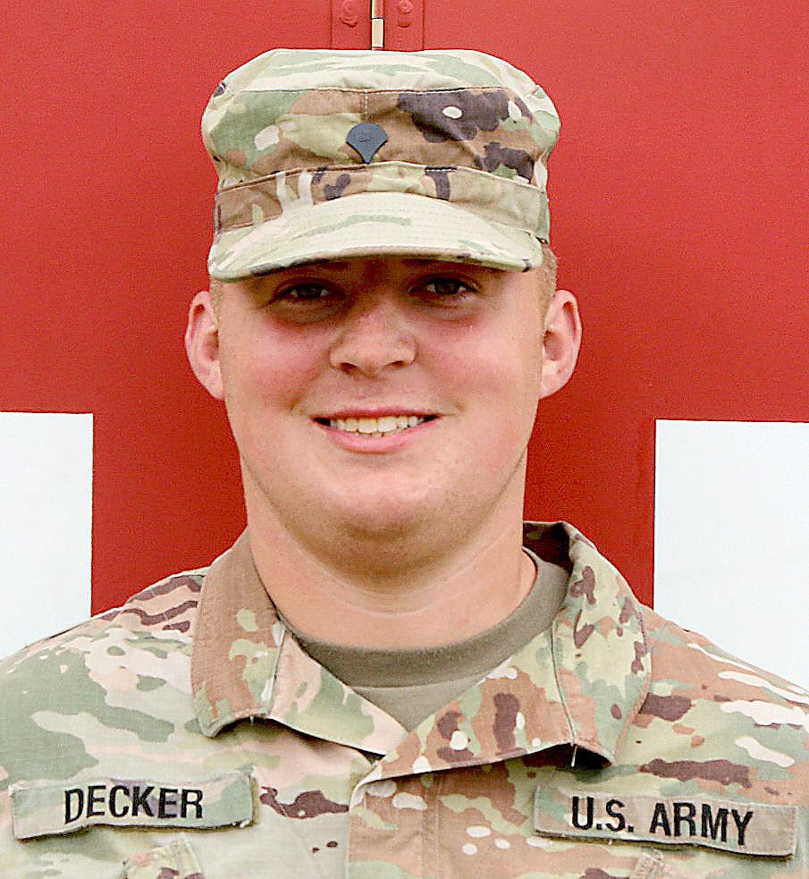 Spc. Ryan Decker