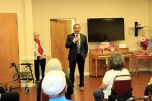 Bera discusses Medicare at Senior Center roundtable