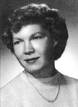 Ann Alderson Cannon (1933 - 2020)