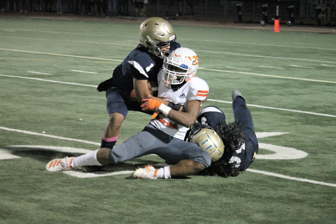 tackle Cosumnes Oaks running back