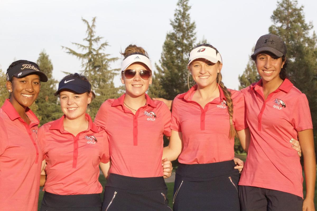 Pleasant Grove Girls Golf team