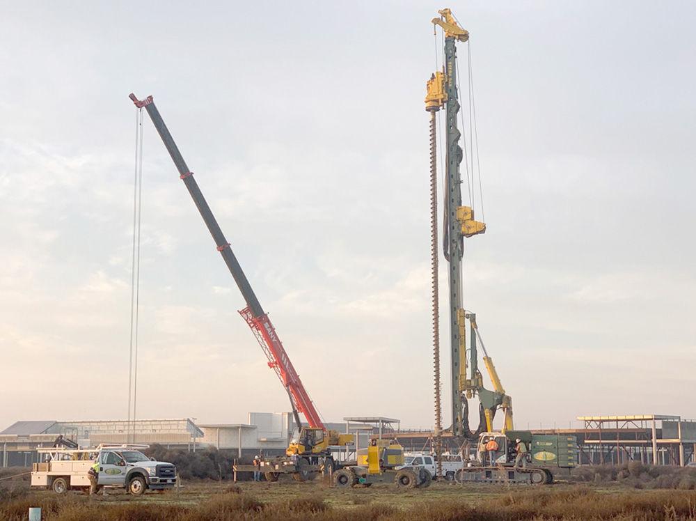 Pile load testing