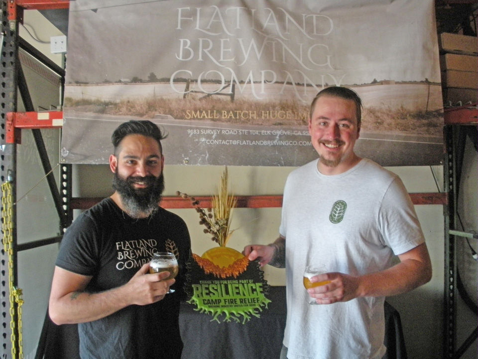 Local breweries honored for Camp Fire relief fundraiser