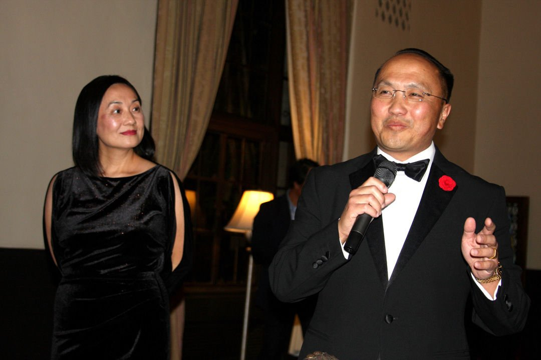 Mayor Steve Ly and wife, Cua