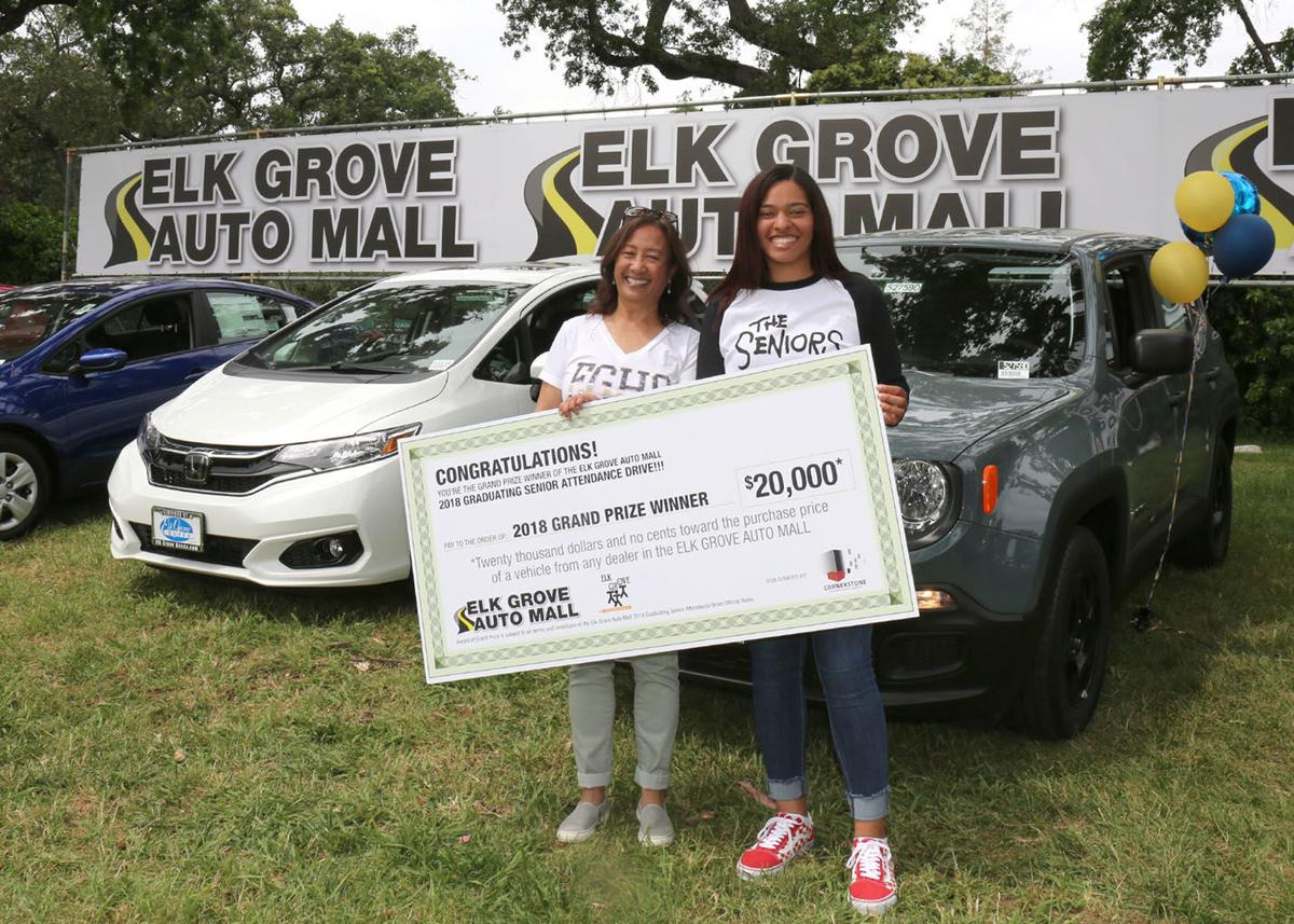 Elk Grove Auto Mall >> Eghs Student Wins Car For Perfect Attendance Lifestyle Egcitizen Com