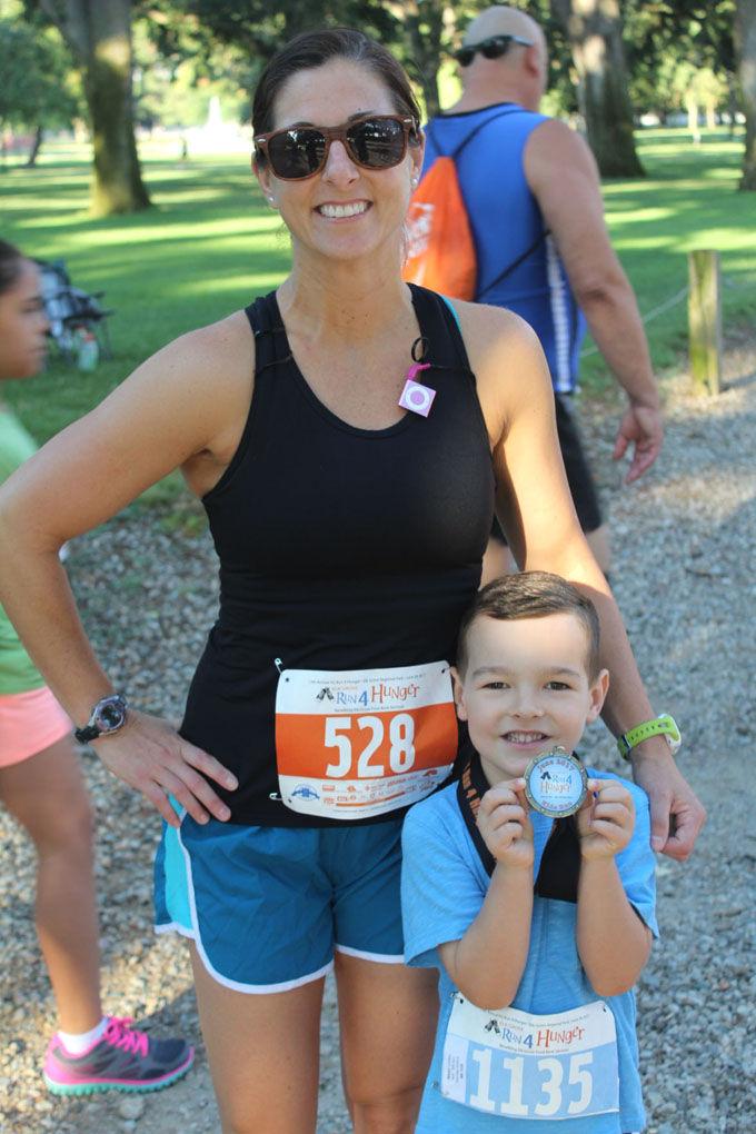 Mackenzie Wieser and her son, Landon