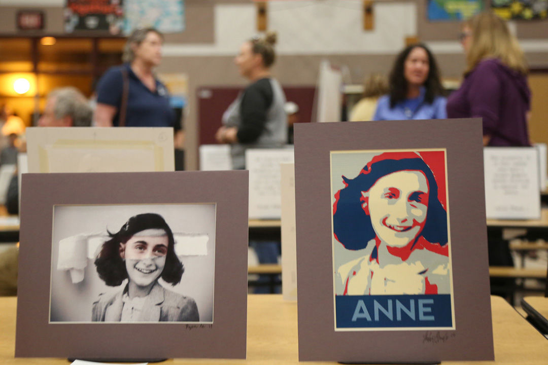 Portraits of Anne Frank