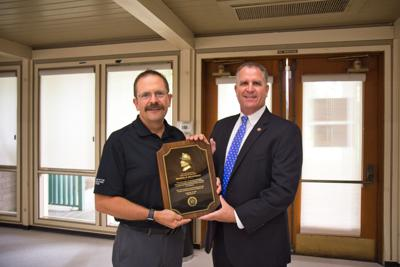 McLaughlin honored as Fire Chief of the Year