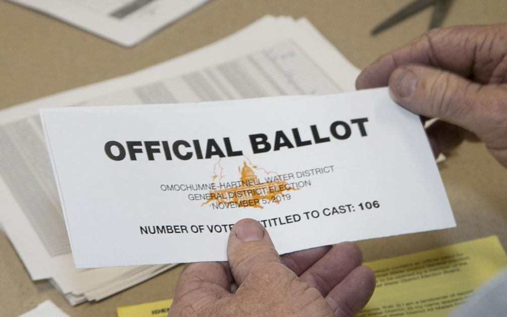 Rural water district holds first election since 1970s - Elk Grove Citizen