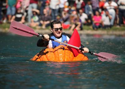 Giant pumpkin boat race canceled, due to COVID concerns