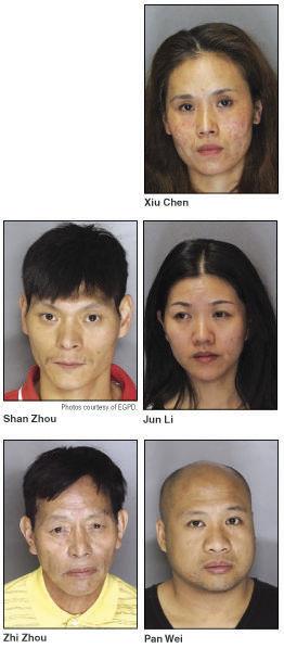 Five arrested in marijuana bust   News   egcitizen com