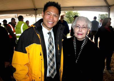 Pat Beal with Darren Suen