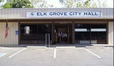 Elk Grove's first City Hall