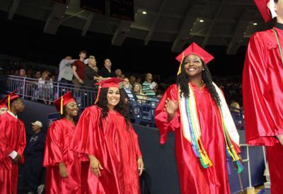 High school graduation rates slip