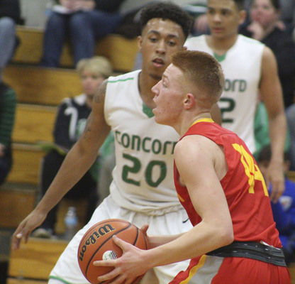 Elkhart Memorial basketball uncoils high-energy comeback from 18 down to stun Concord