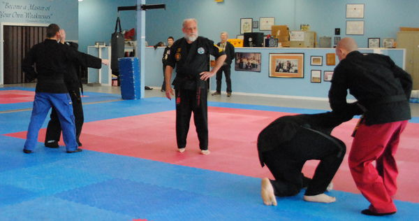 Salomon honored as sixth-degree black belt