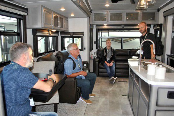 RV makers roll out their best