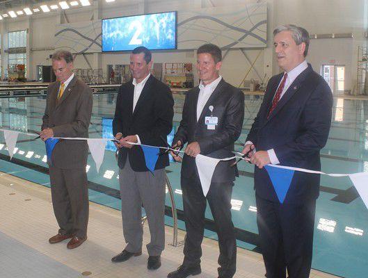Aquatics Center to make big splash