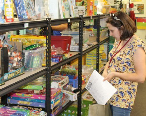 'Store' offers free classroom supplies