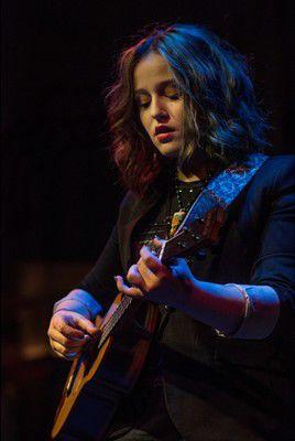 Emi Sunshine on stage at Ignition Music Garage