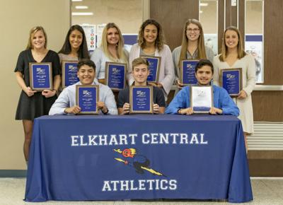 Central fall athletes honored