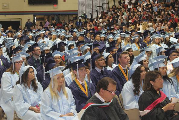 Central graduates begin journey