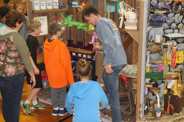 Rube Goldberg machines offer lessons in creativity