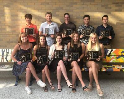Spring athletes honored at Fairfield