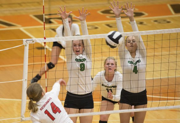 Concord, Fairfield sweep to volleyball semis