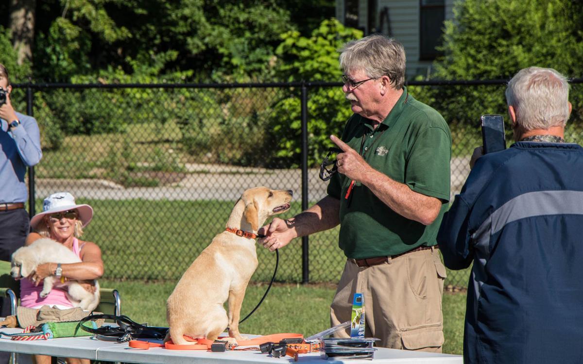 John Faigh dog trainer