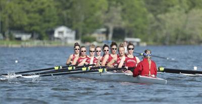 Local girls helping to lead IU rowing team