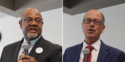 Mayoral hopefuls field questions about young people, Latinos