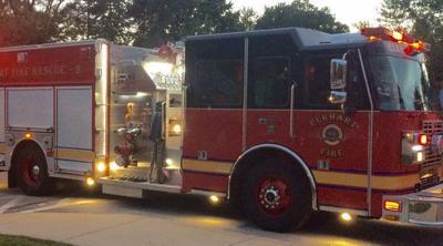 Attic fire destroys Greenleaf Boulevard house