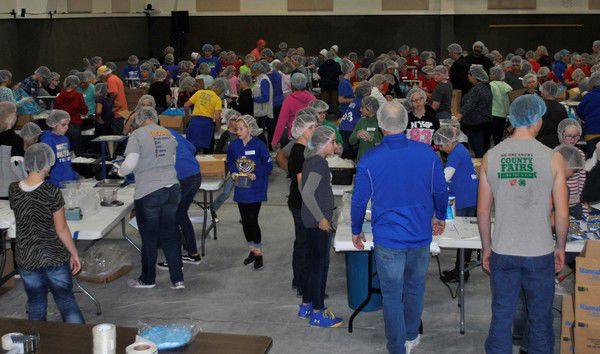 Thousands join effort to feed starving children