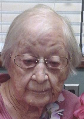 Frances Thorp turning 107